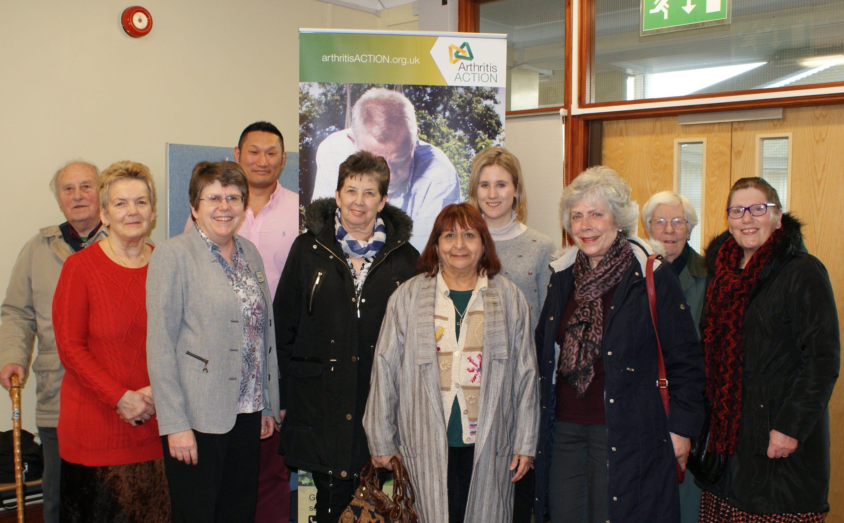 Arthritis Action Group welcomes Patient Director