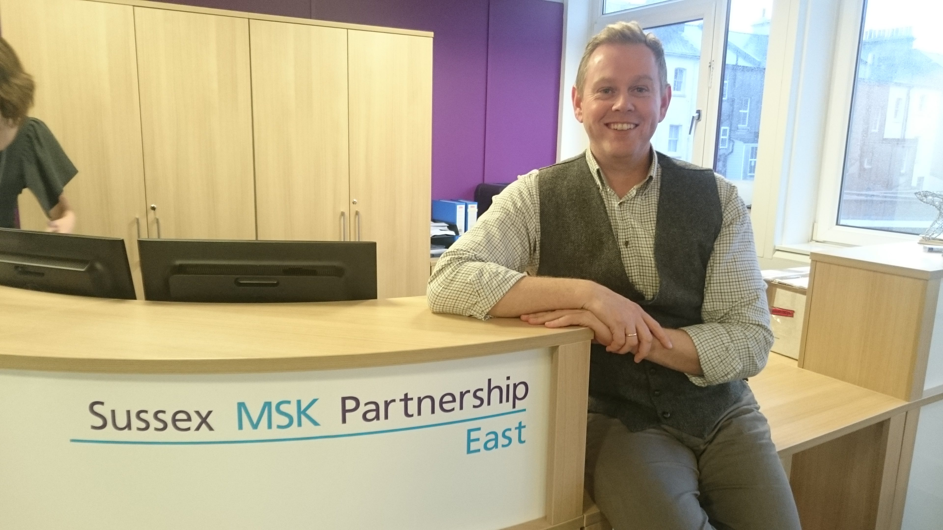 Sussex MSK Partnership East Appoints New Clinical Director