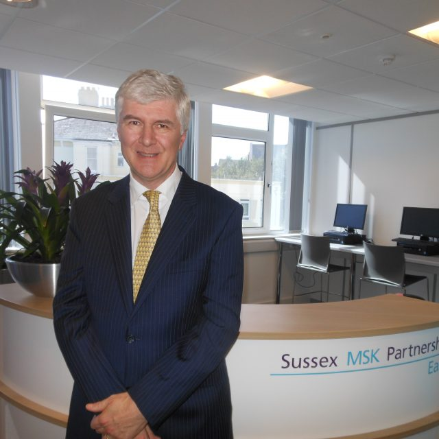 Dr Simon Thorp joins Sussex MSK Partnership East